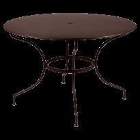 TABLE RONDE OPÉRA D.117 CM, Rouille de FERMOB