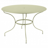 TABLE RONDE OPÉRA D.117 CM, Tilleul de FERMOB