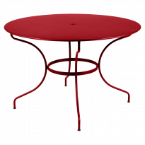 TABLE RONDE OPÉRA +, D. 117, Coquelicot de FERMOB