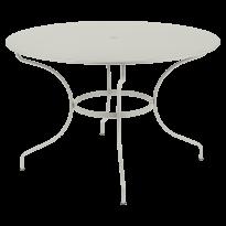 TABLE RONDE OPÉRA +, D. 117, Gris argile de FERMOB