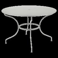 TABLE RONDE OPÉRA +, D. 117, Gris métal de FERMOB