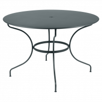TABLE RONDE OPÉRA +, D. 117, Gris orage de FERMOB