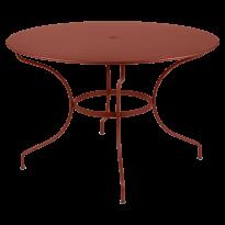 TABLE RONDE OPÉRA +, D. 117, Ocre rouge de FERMOB