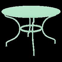 TABLE RONDE OPÉRA +, D. 117, Vert opaline de FERMOB