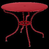 TABLE RONDE OPÉRA +, D. 96, Coquelicot de FERMOB