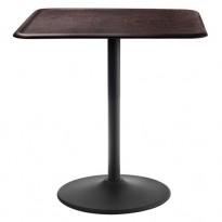 TABLE PIPE, L.71 x l.71 cm, Plateau Hêtre foncé de MAGIS