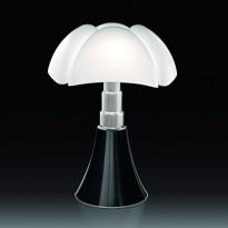 LAMPE A POSER PIPISTRELLO, Noir brillant de MARTINELLI LUCE