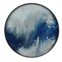 PLATEAU BLUE MIST ORGANIC, D.48, Bleu d