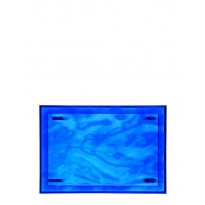 PLATEAU DUNE DE KARTELL BLEU L.46 X H.2.5 X P.32