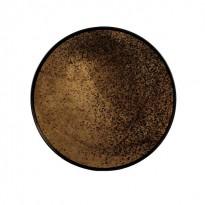 PLATEAU HEAVY AGED BRONZE MIRROR, D.48, Bronze d
