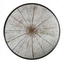 PLATEAU SLICE AGED MIRROR, D.48, Noir d
