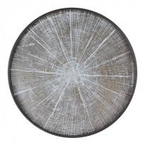 PLATEAU WHITE SLIDE, D.48, Noir d