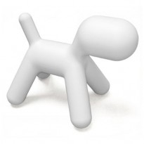 CHAISE PUPPY, S, Blanc de MAGIS COLLECTION ME TOO