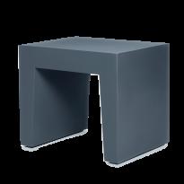 TABOURET CONCRETE SEAT, Anthracite de FATBOY