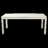 Table à allonges RIBAMBELLE de Fermob, 1 allonge, Gris Argile