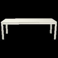 Table à allonges RIBAMBELLE de Fermob, 2 allonges, Gris Argile