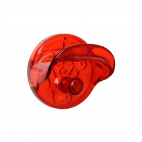 PORTE MANTEAUX WALL CLOTHES HOOK DE KARTELL, ROUGE ORANGÉ