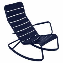 ROCKING CHAIR LUXEMBOURG, Bleu abysse de FERMOB