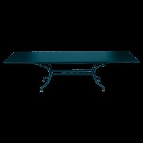 TABLE A ALLONGE ROMANE, Bleu acapulco de FERMOB