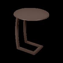 TABLE BASSE DÉPORTÉE ALIZÉ, Rouille de FERMOB