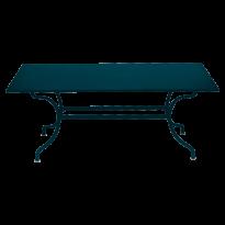 TABLE ROMANE 180 CM, Bleu acapulco de FERMOB