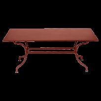 TABLE ROMANE 180 CM, Ocre rouge de FERMOB