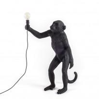 LAMPE A POSER MONKEY STANDING, Noir de SELETTI