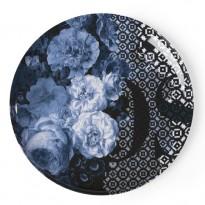 SET DE 4 ASSIETTES EXTRA-PLATES, 3 couleurs de IBRIDE