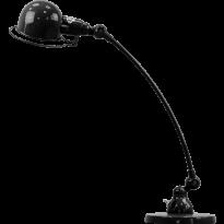 LAMPE A POSER SIGNAL COURBE SIC400 DE JIELDÉ, NOIR MARTELÉ