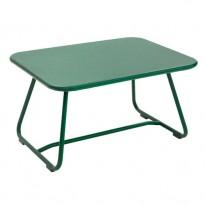 TABLE BASSE SIXTIES, Vert cèdre de FERMOB