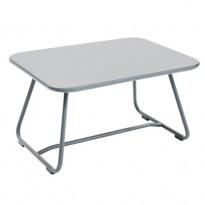 TABLE BASSE SIXTIES, Gris métal de FERMOB
