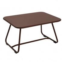 TABLE BASSE SIXTIES, Rouille de FERMOB