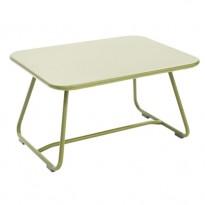 TABLE BASSE SIXTIES, Tilleul de FERMOB
