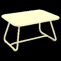 Table basse SIXTIES de Fermob, Citron givré