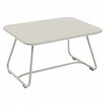 Table basse SIXTIES de Fermob, Gris argile