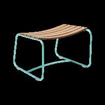 REPOSE-PIEDS SURPRISING TECK, Bleu lagune de FERMOB