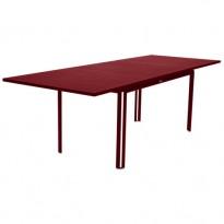 TABLE A ALLONGE COSTA PIMENT de FERMOB