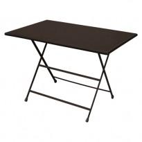 TABLE PLIANTE ARC EN CIEL, 110X70, Marron d