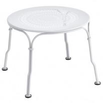 TABLE BASSE 1900, Blanc coton de FERMOB