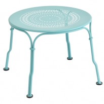 TABLE BASSE 1900, Bleu lagune de FERMOB