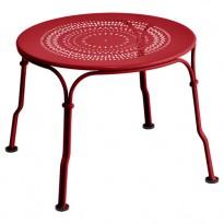 TABLE BASSE 1900, Coquelicot de FERMOB