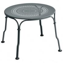 TABLE BASSE 1900 GRIS ORAGE de FERMOB