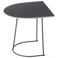 TABLE BASSE AIRY HALF SIZE DE MUUTO, NOIR
