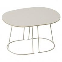 TABLE BASSE AIRY SMALL DE MUUTO, BLANC CASSÉ