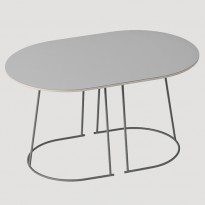 TABLE BASSE AIRY SMALL DE MUUTO, GRIS