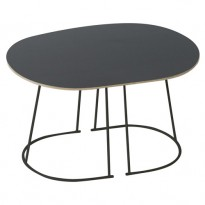 TABLE BASSE AIRY SMALL DE MUUTO, NOIR