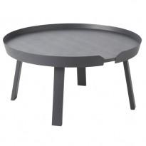 TABLE BASSE AROUND, Large, Anthracite de MUUTO