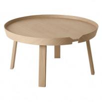 TABLE BASSE AROUND, Large, Chêne de MUUTO