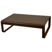 TABLE BASSE BELLEVIE ROUILLE de FERMOB