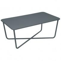 CROISETTE TABLE BASSE GRIS ORAGE de FERMOB